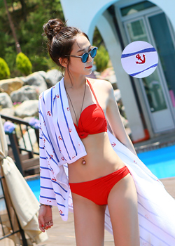 "478027 - <br> <font color=""878787""><font face=""굴림"">Beach Marine -towel</font></font>"
