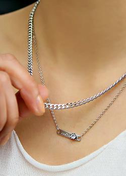 """477406 - <br> <font color=""""878787""""><font face=""""굴림"""">Juicy chain -necklace</font></font>"""