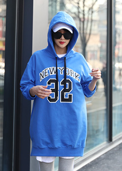 "485863 - <font color=""878787""><font face=""굴림"">New York 32 T-shirts Long Hood</font></font>"