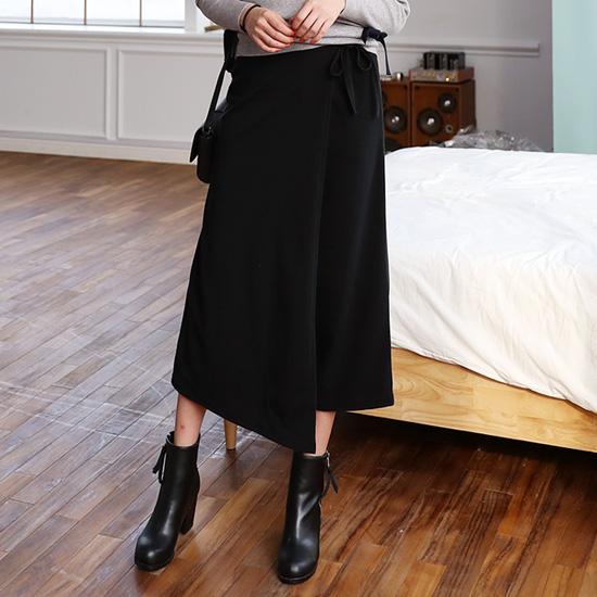 """485946 - <font color=""""878787""""><font face=""""굴림"""">Black Skirt Boutique Pants</font></font>"""