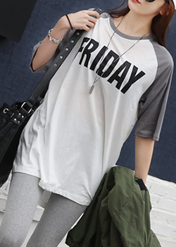 "486067 - <font color=""878787""><font face=""굴림"">Friday Night t-shirts nageurang</font></font>"
