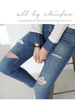 """486136 - <font color=""""878787""""><font face=""""굴림"""">Brother vintage wash skinny jeans</font></font>"""