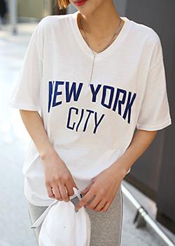 "486195 - <font color=""878787""><font face=""굴림"">Suites New York T-shirt printing</font></font>"