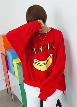"486302 - <font color=""878787""><font face=""굴림"">One on one t-shirt printing Banana Ringo</font></font>"