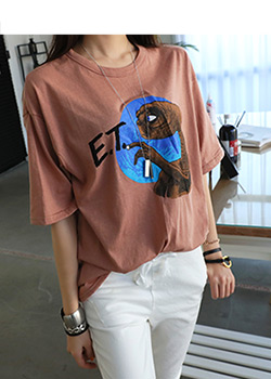 "486398 - <font color=""878787""><font face=""굴림"">Eighty printing T-shirts</font></font>"