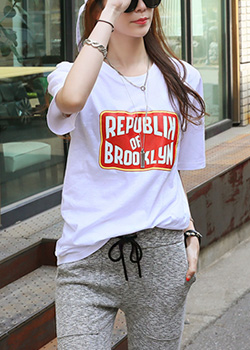 "486448 - <font color=""878787""><font face=""굴림"">Ssenteom printing T-shirts</font></font>"