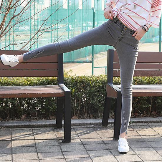 """486479 - <font color=""""878787""""><font face=""""굴림"""">Chic Vintage Promise jeans-</font></font>"""