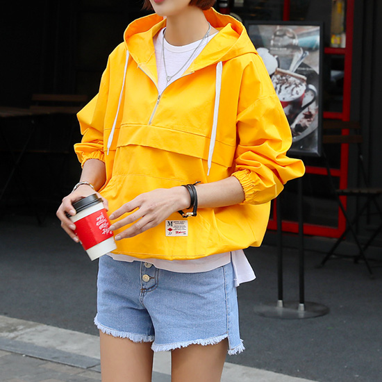"486545 - <font color=""878787""><font face=""굴림"">Bloggers anorak man-to-man t-shirts</font></font>"
