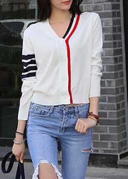"486862 - <font color=""878787""><font face=""굴림"">Tom Knit Cardigan More</font></font>"