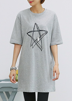 "486874 - <font color=""878787""><font face=""굴림"">By stylish printing T-shirts</font></font>"