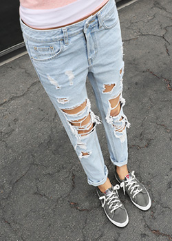 "486920 - <font color=""878787""><font face=""굴림"">Gorgeous Straight Denim Pants</font></font>"