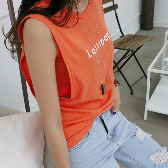 """486962 - <font color=""""878787""""><font face=""""굴림"""">Raleigh ROLLY Sleeveless shirts</font></font>"""