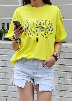 "486970 - <font color=""878787""><font face=""굴림"">Star Wars T-shirt printing</font></font>"