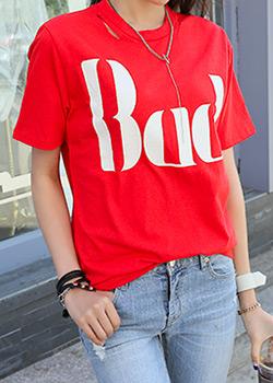 """487044 - <font color=""""878787""""><font face=""""굴림"""">Good Bad T-shirt</font></font>"""