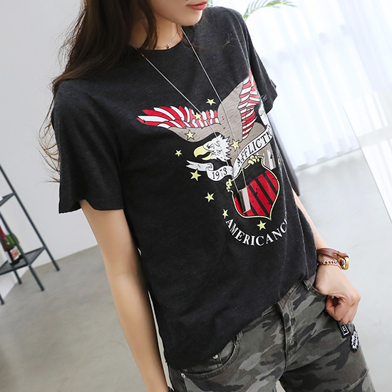 "487152 - <font color=""878787""><font face=""굴림"">Eagle Kingdom T-Shirt</font></font>"