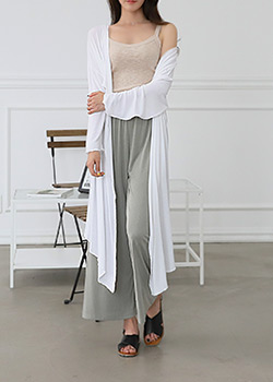 "487156 - <font color=""878787""><font face=""굴림"">Cool Summer Long cardigan</font></font>"