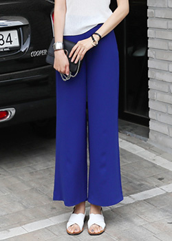 "487219 - <font color=""878787""><font face=""굴림"">Jewel Wide Pants</font></font>"