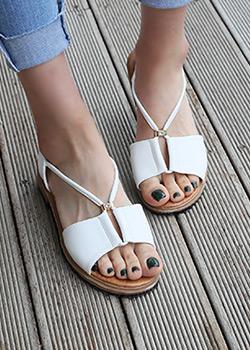 487283 - Belgien Strap sandals