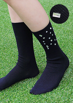 "487288 - <font color=""878787""><font face=""굴림"">Bling Beads Socks</font></font>"