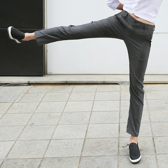"487158 - <font color=""878787""><font face=""굴림"">Zero Slacks Pants</font></font>"
