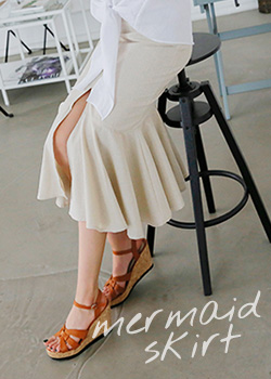"487547 - <font color=""878787""><font face=""굴림"">Sim Kung-Yeol Mermaid Skirt</font></font>"