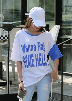 "487684 - <font color=""878787""><font face=""굴림"">Thumel Slavic T-shirt</font></font>"