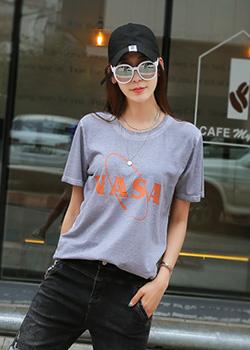 """487733 - <font color=""""878787""""><font face=""""굴림"""">Nasadin t-shirt</font></font>"""