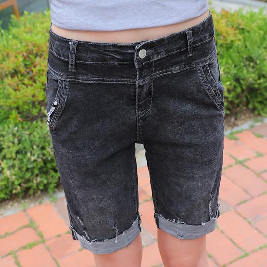 """487734 - <font color=""""878787""""><font face=""""굴림"""">Promise jeans Summer version 5 pants</font></font>"""