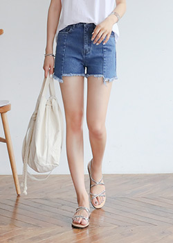 "487943 - <font color=""878787""><font face=""굴림"">New Haven Short Denim Pants</font></font>"