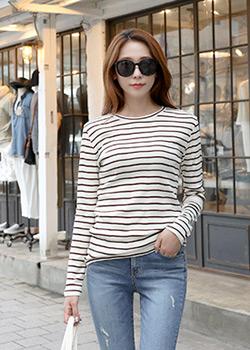 488184 - Runnin stripe knit