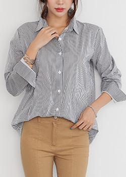 488234 - Lori on Striped shirt