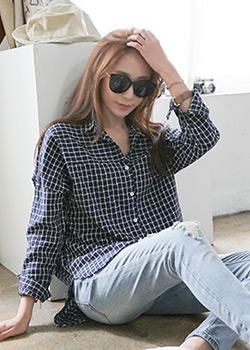 488283 - Modern D Check Shirts