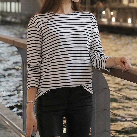 488416 - Ronnison Striped T-shirt
