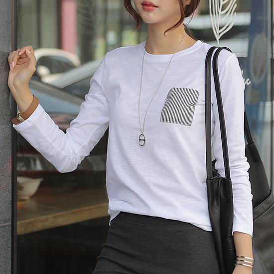488487 - Loved pocket T-shirt