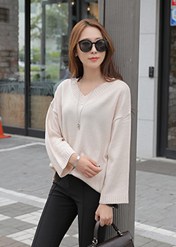 488552 - Holicos V-neck knit