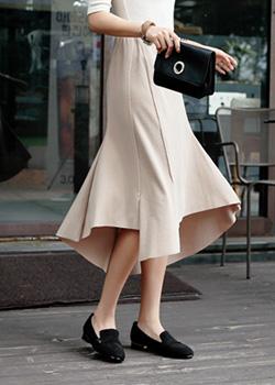 488581 - Alloy Banding Skirt