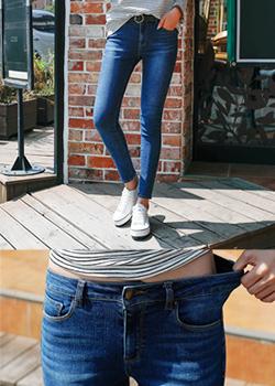 488638 - Strong denim skinny pants