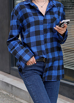 488667 - Glendy Check Shirt