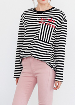 488752 - Disca Striped T-shirt