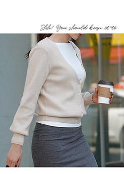 488898 - Meretes knit cardigan