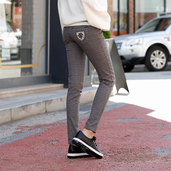488698 - Marrow check skinny pants