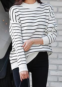 488936 - Forbidden Stripe Knit