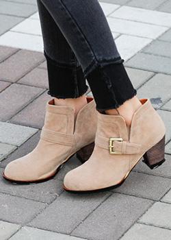 489085 - El Luna Suede Ankle Boots