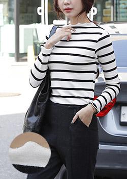489377 - Murobi stripe shirt